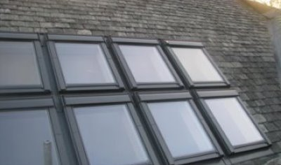 Roof Windows – part of a house extension in Chester, Cheshire